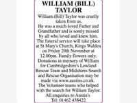 William Taylor (Bill) photo