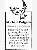 Michael Pidgeon photo