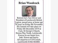 Brian Woodcock photo