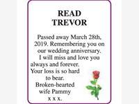 TREVOR READ photo