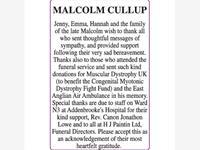 MALCOLM CULLUP photo