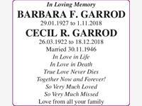 Garrod Barbara and Cecil photo