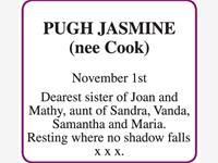 JASMINE (nee Cook)  PUGH photo