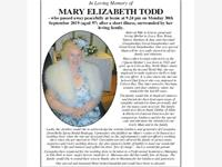 Mary Elizabeth Todd photo