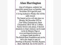Alan Harrington photo