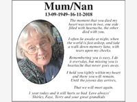 Mum/Nan photo