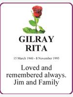GILRAY        RITA photo