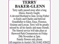 Terry Baker-Glenn photo