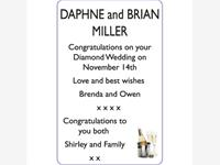 DAPHNE and BRIAN MILLER photo