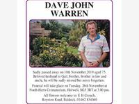 DAVE JOHN WARREN photo