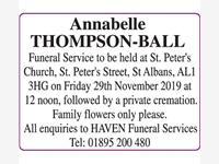 Annabelle Thompson-Ball photo