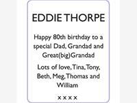 EDDIE THORPE photo