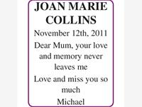 JOAN MARIE COLLINS photo