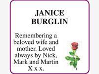 BURGLIN JANICE photo