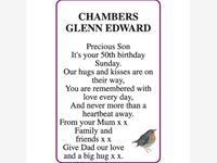 GLENN EDWARD CHAMBERS photo