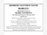 herbert matthew david borley photo