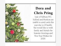 DORA and CHRIS PRING photo