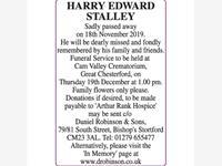 HARRY EDWARD STALLEY photo