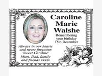 CAROLINE MARIE WALSHE photo