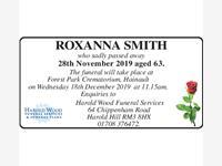 ROXANNA SMITH photo