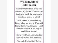William James (Bill) Taylor photo
