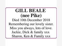 GILL BEALE (nee Pike) photo