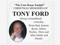 Tony Ford photo