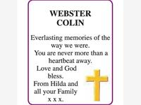COLIN WEBSTER photo