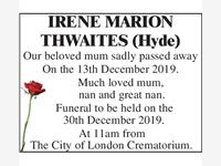 Irene Thwaites photo
