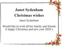 Janet Sydenham photo