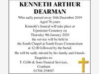 KENNETH ARTHUR DEARMAN photo