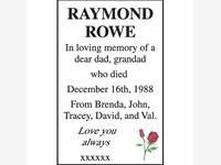RAYMOND ROWE  photo