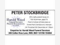 PETER STOCKBRIDGE photo