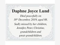 Daphne Joyce Lund photo