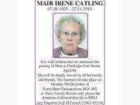 Mair Irene Catling photo