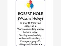 ROBERT (Warcha Holey) HOLE photo