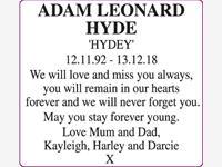 ADAM LEONARD HYDE photo