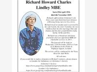 RICHARD HOWARD CHARLES LINDLEY photo