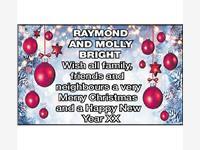 Raymond and Molly Bright photo