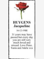 HUYGENS Jacqueline photo