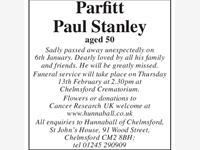 Parfitt Paul Stanley photo