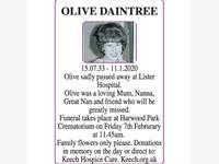 Olive Daintree photo