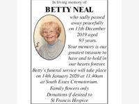 Betty Neal photo
