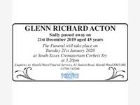 GLENN RICHARD ACTON photo
