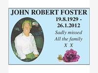 JOHN ROBERT FOSTER photo
