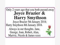 Joyce Brazier & Harry Smythson photo