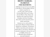 Brown Barbara Florence photo