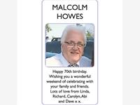 MALCOLM HOWES photo