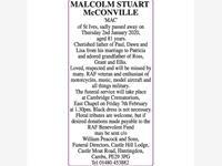 MALCOLM STUART McCONVILLE 'MAC' photo