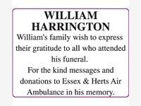 WILLIAM HARRINGTON photo